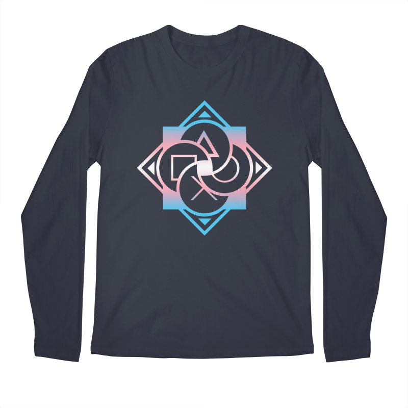 Logo - Trans Pride Men's Regular Longsleeve T-Shirt by Queer Women Game Loot