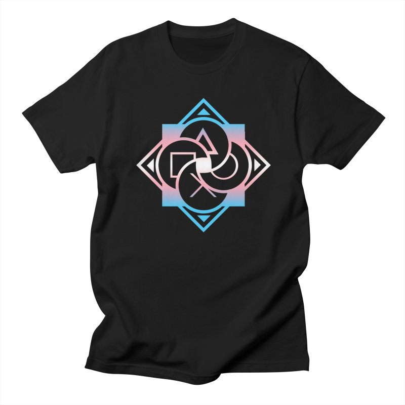 Logo - Trans Pride Women's Regular Unisex T-Shirt by Queer Women Game Loot