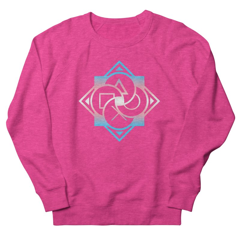 Logo - Trans Pride Women's French Terry Sweatshirt by Queer Women Game Loot