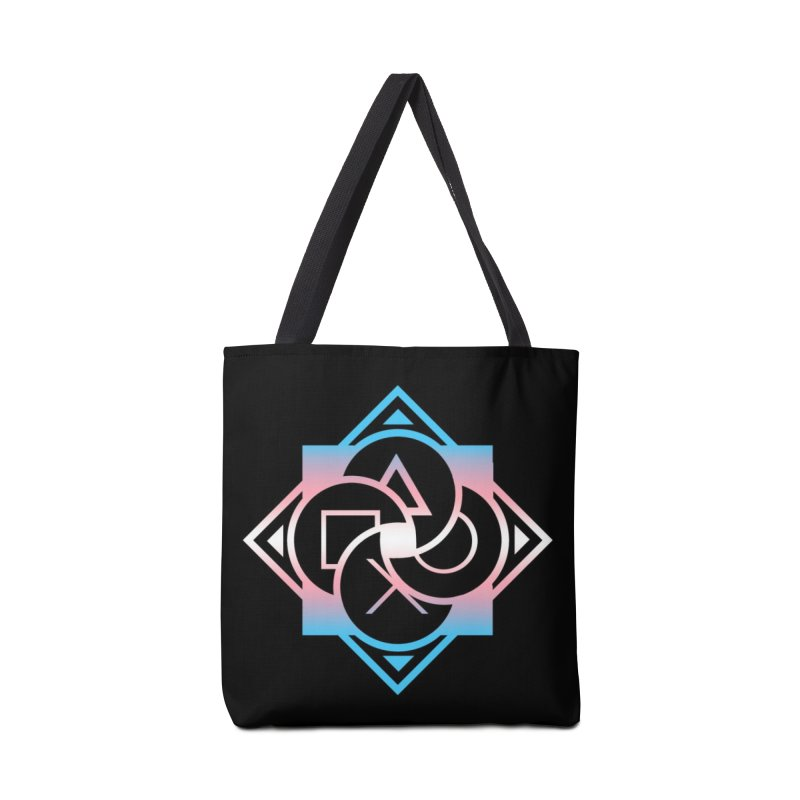 Logo - Trans Pride Accessories Tote Bag Bag by Queer Women Game Loot