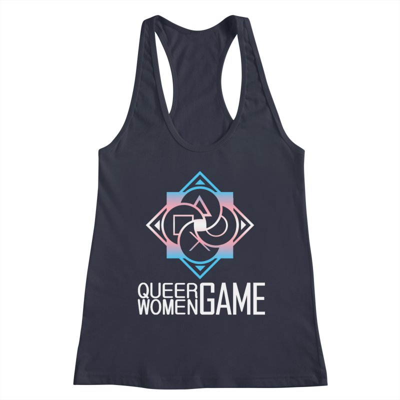 Logo & Text - Trans Pride Women's Tank by Queer Women Game Loot