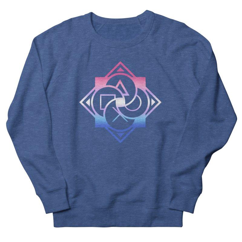 Logo - Bigender Pride Men's Sweatshirt by Queer Women Game Loot
