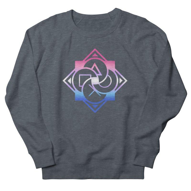 Logo - Bigender Pride Women's French Terry Sweatshirt by Queer Women Game Loot