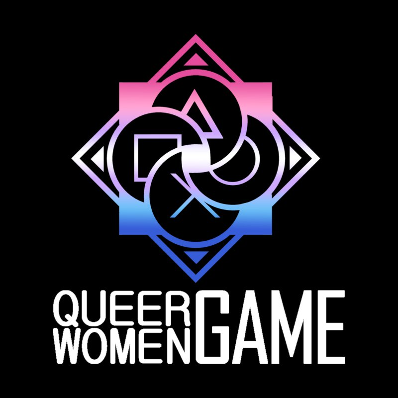 Logo & Text - Bigender Pride Men's V-Neck by Queer Women Game Loot