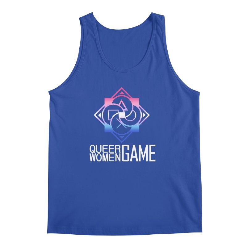 Logo & Text - Bigender Pride Men's Regular Tank by Queer Women Game Loot