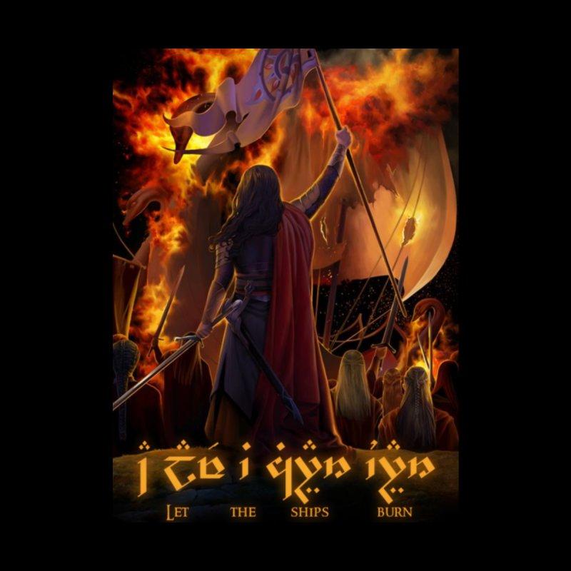 Fëanor burning ships by Q101 Shop
