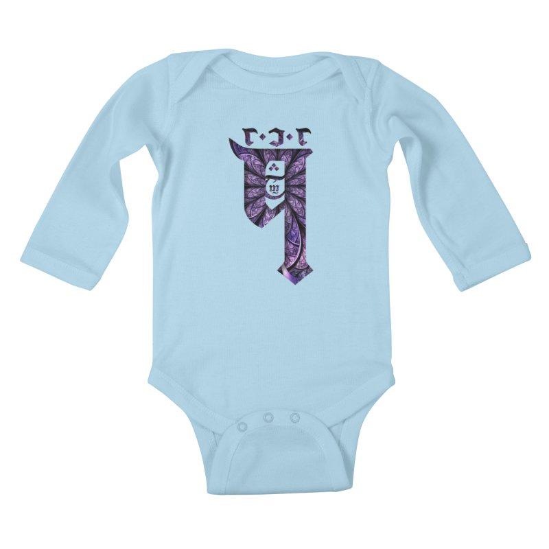 Q101 Coirë Logo Kids Baby Longsleeve Bodysuit by Q101 Shop
