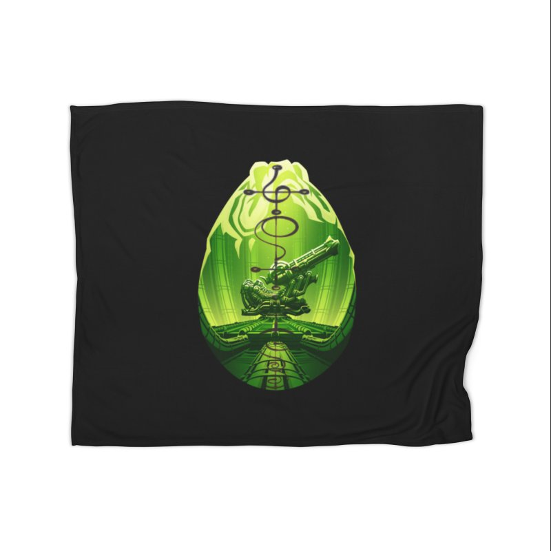 Alien in Fleece Blanket Blanket by Q101 Shop