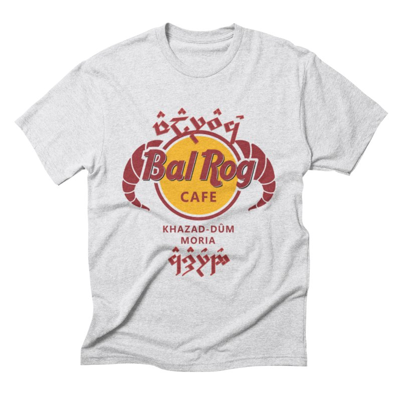 Valarauco Cafe in Men's Triblend T-Shirt Heather White by Q101 Shop