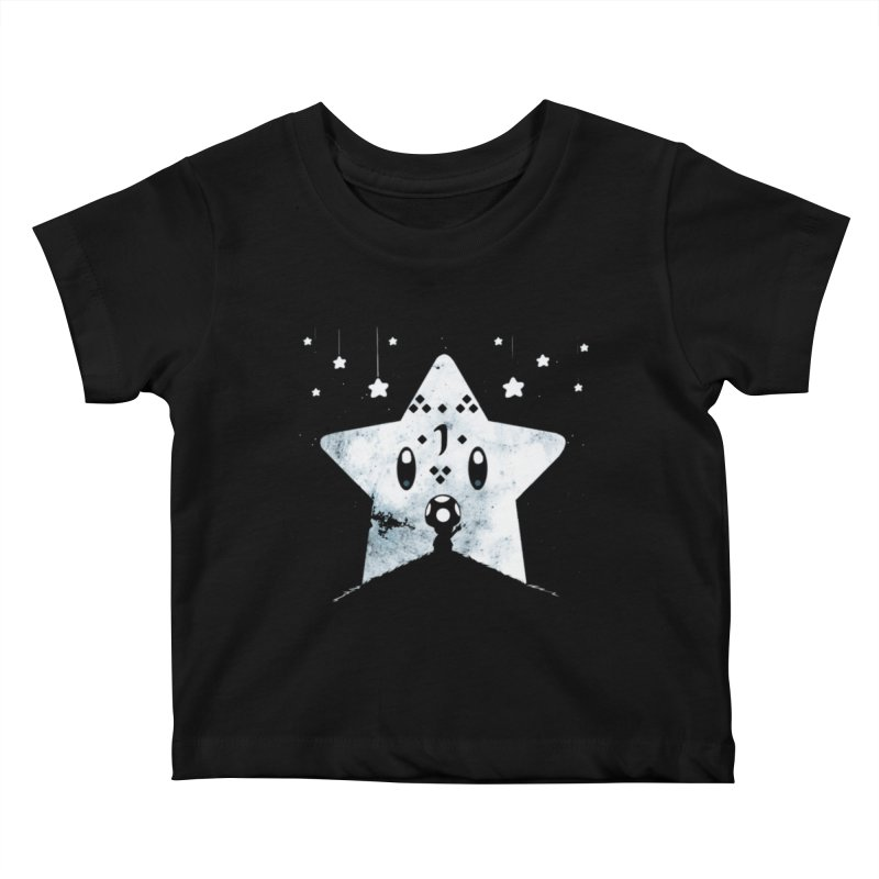 Elen in Kids Baby T-Shirt Black by Q101 Shop