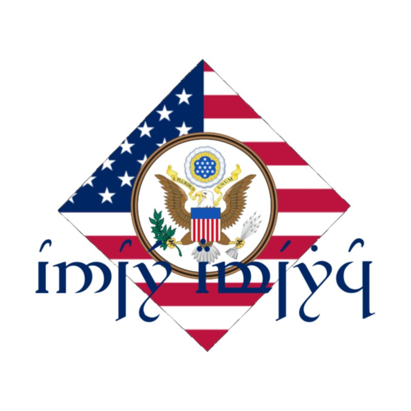 USA Elvish Heraldry by Q101 Shop