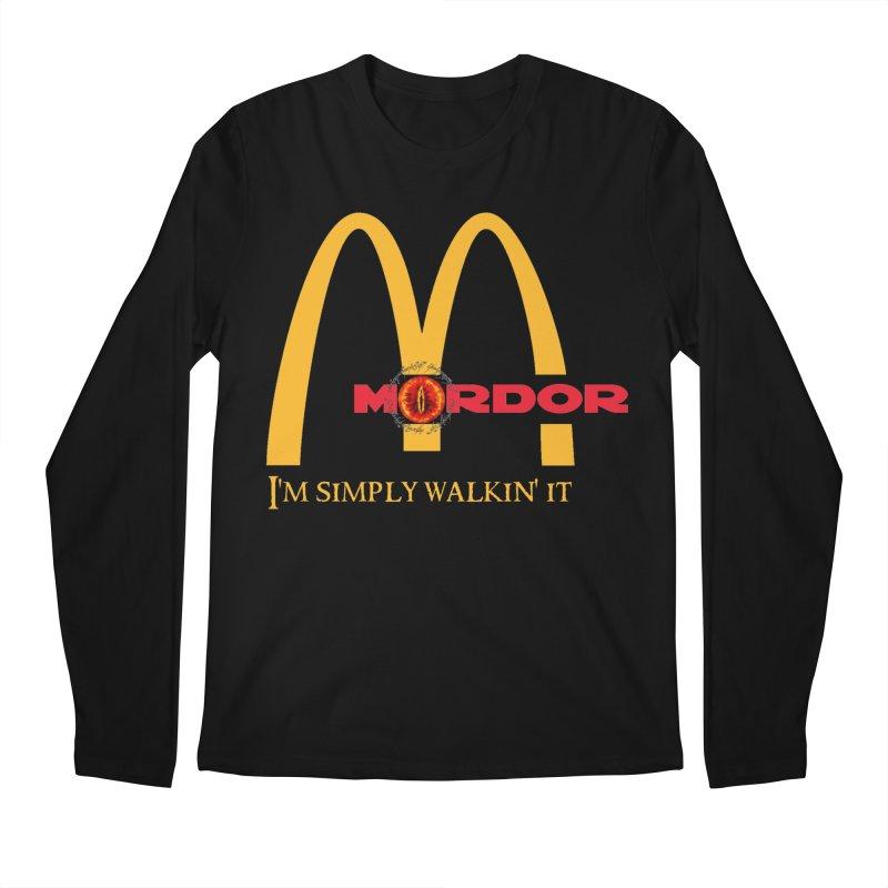 I'm simply walkin it in Men's Longsleeve T-Shirt Black by Q101 Shop