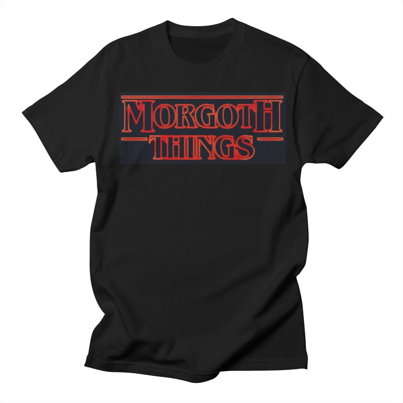 Morgoth Things in Men's T-Shirt Black by Q101 Shop