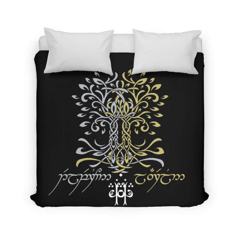 Two Trees of Valinor in Duvet by Q101 Shop