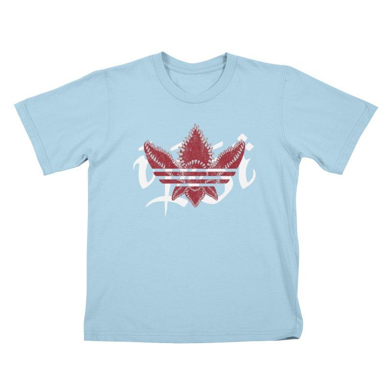 Stranger indeed! in Kids T-Shirt Powder Blue by Q101 Shop