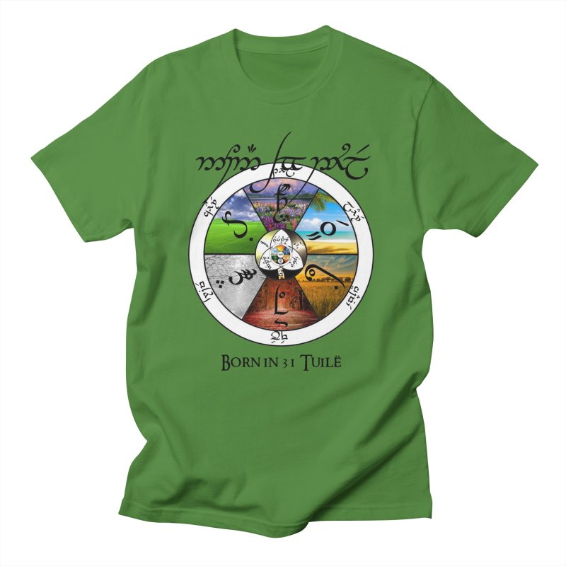 Born in Tuilë in Men's T-Shirt Clover by Q101 Shop