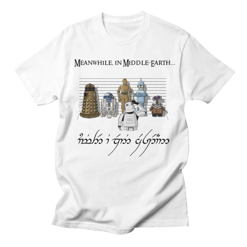 They're not the ones I'm looking for in Men's T-Shirt White by Q101 Shop