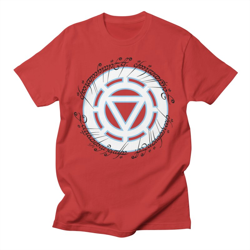 Iron Ring in Men's T-Shirt Red by Q101 Shop