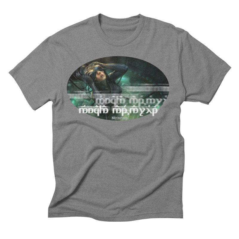 Android Netrunner Men's Triblend T-Shirt by Q101 Shop
