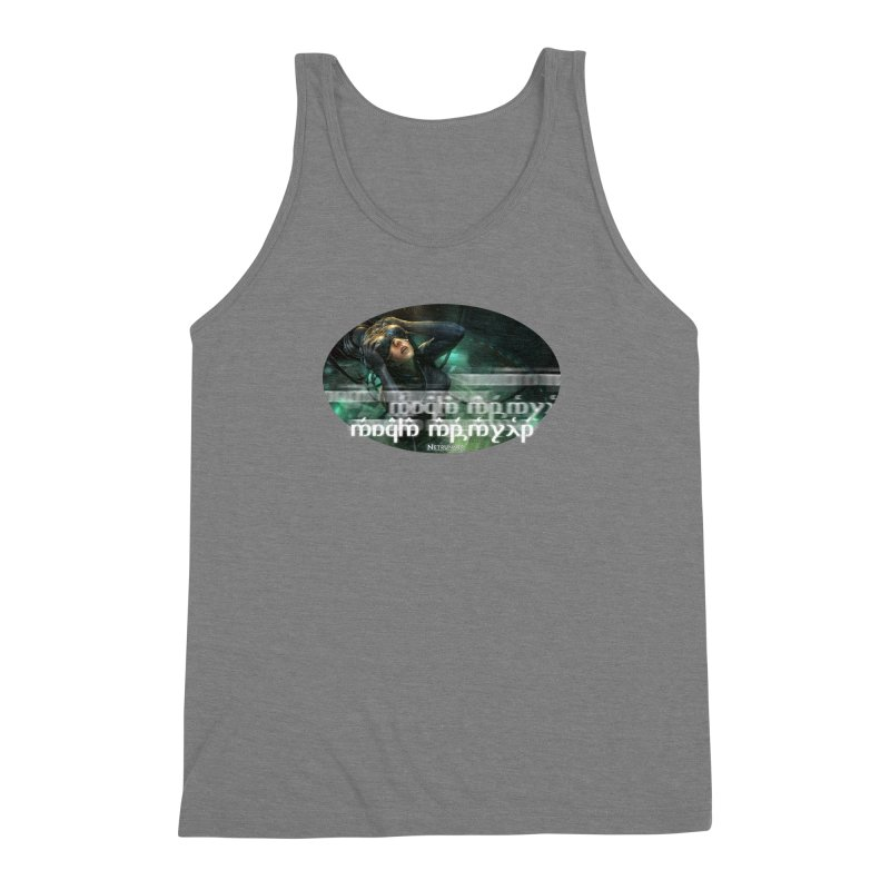 Android Netrunner Men's Triblend Tank by Q101 Shop