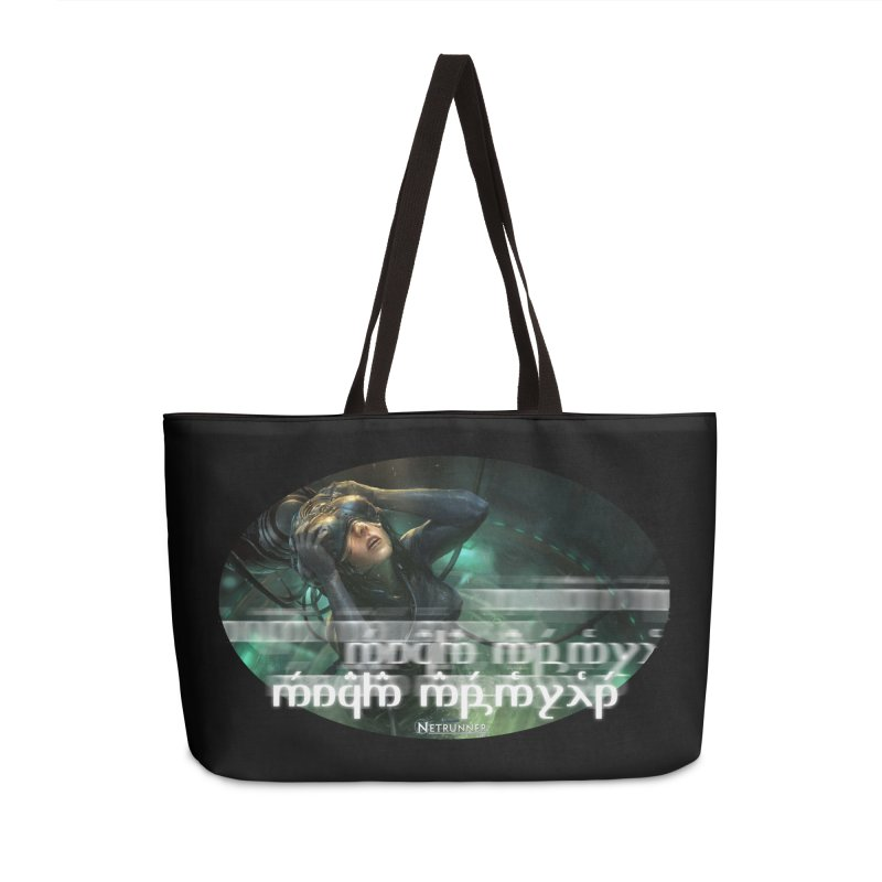 Android Netrunner in Weekender Bag by Q101 Shop