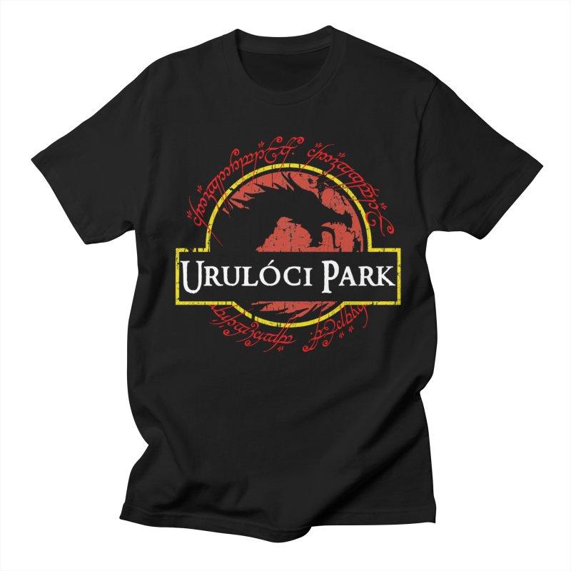 Urulóci Park in Men's Regular T-Shirt Black by Q101 Shop
