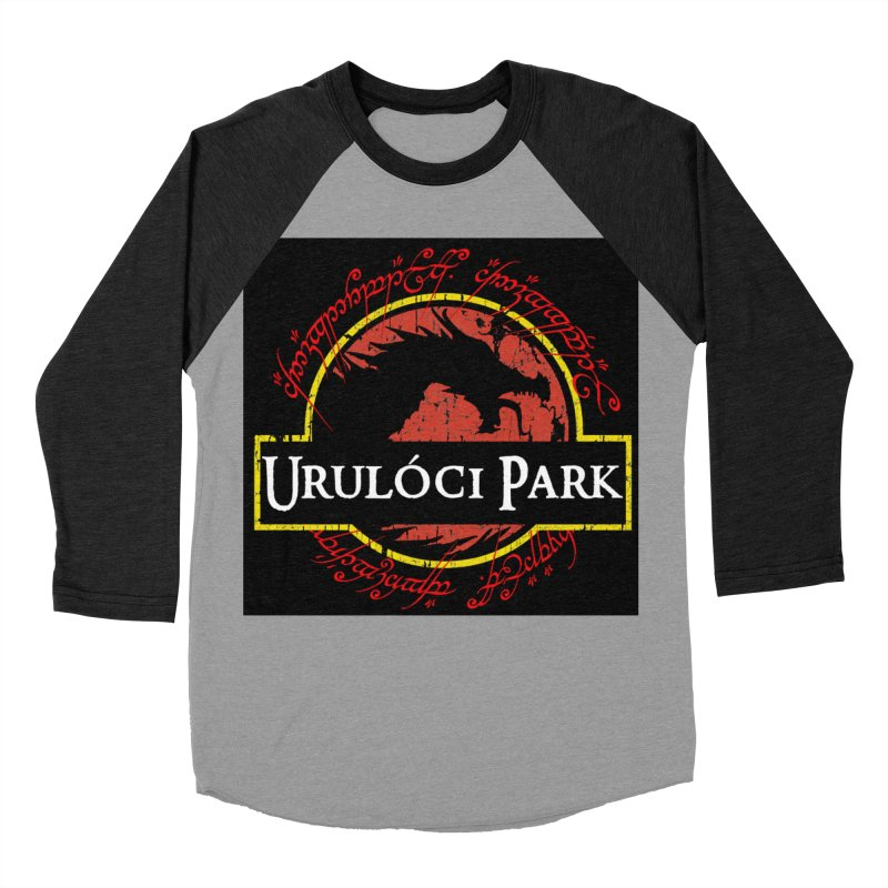 Urulóci Park Women's Baseball Triblend Longsleeve T-Shirt by Q101 Shop