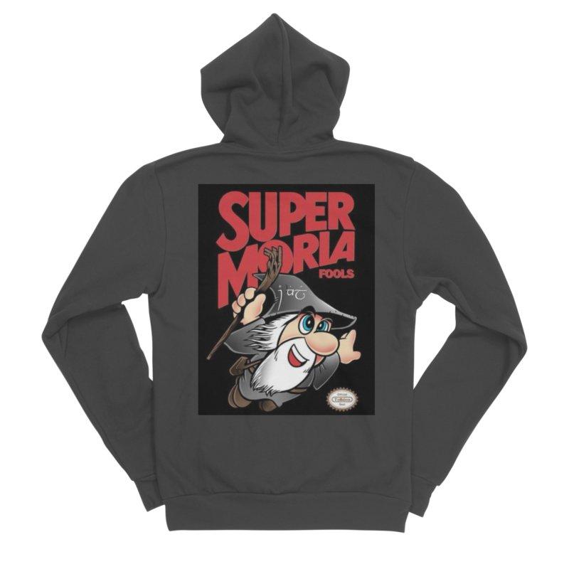 Super Moria Fools Women's Sponge Fleece Zip-Up Hoody by Q101 Shop