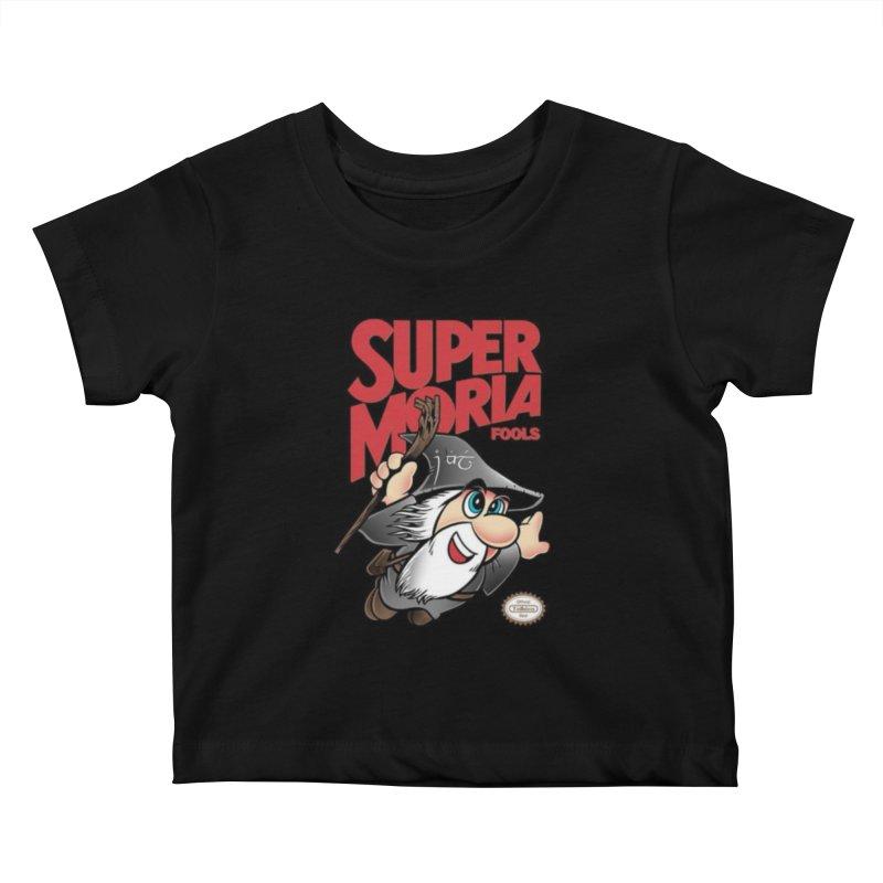 Super Moria Fools Kids Baby T-Shirt by Q101 Shop