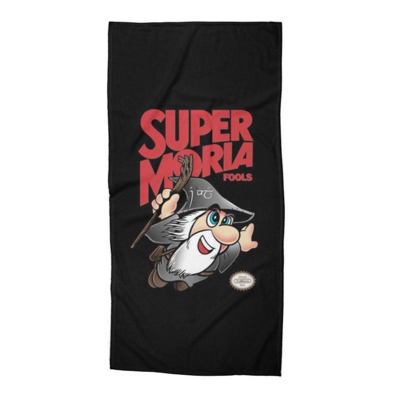 Super Moria Fools Accessories Beach Towel by Q101 Shop