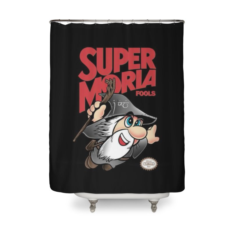 Super Moria Fools Home Shower Curtain by Q101 Shop