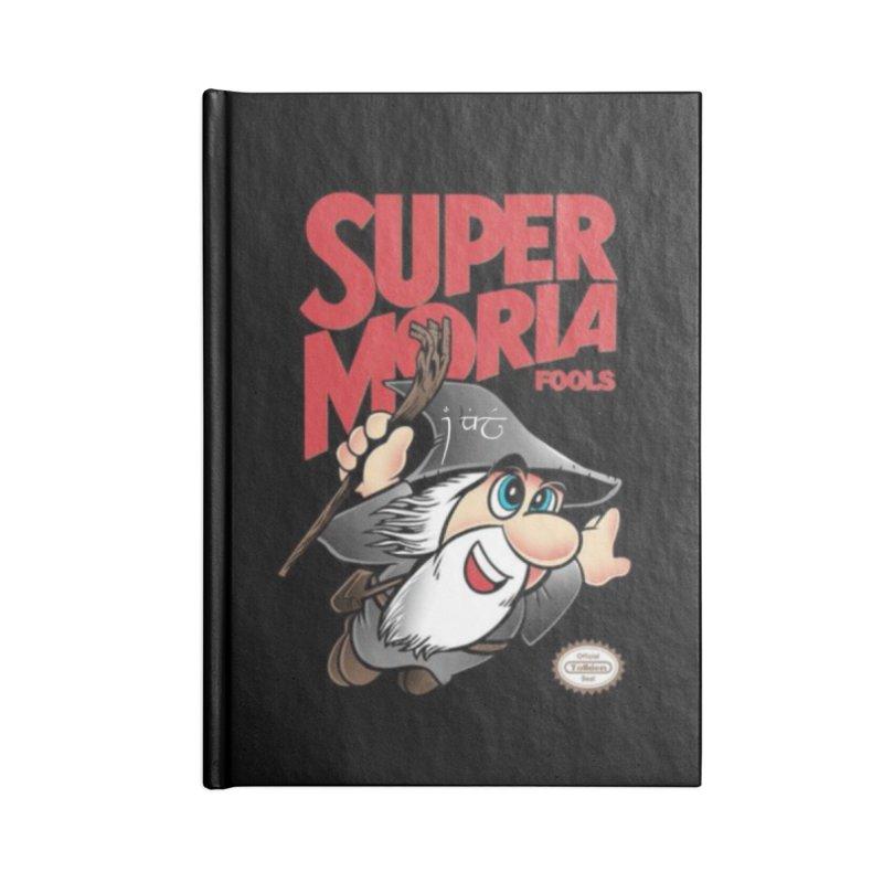 Super Moria Fools Accessories Notebook by Q101 Shop