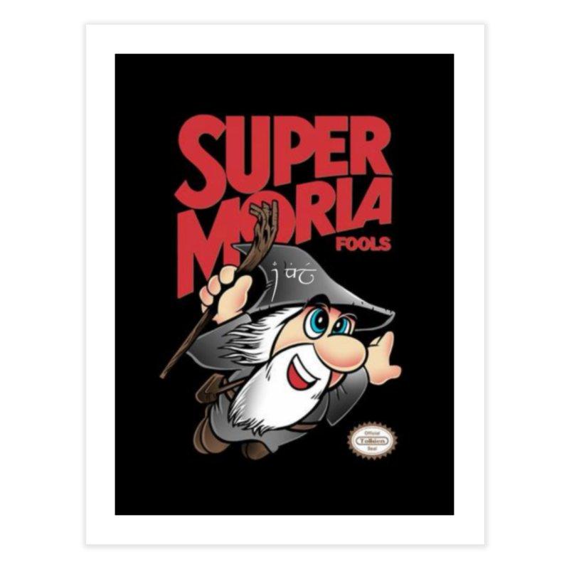 Super Moria Fools Home Fine Art Print by Q101 Shop