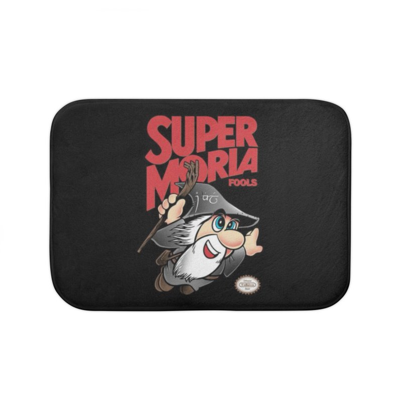 Super Moria Fools Home Bath Mat by Q101 Shop