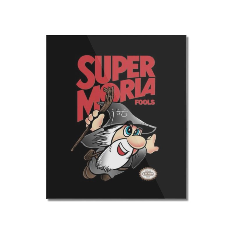 Super Moria Fools Home Mounted Acrylic Print by Q101 Shop