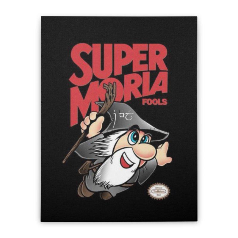 Super Moria Fools Home Stretched Canvas by Q101 Shop