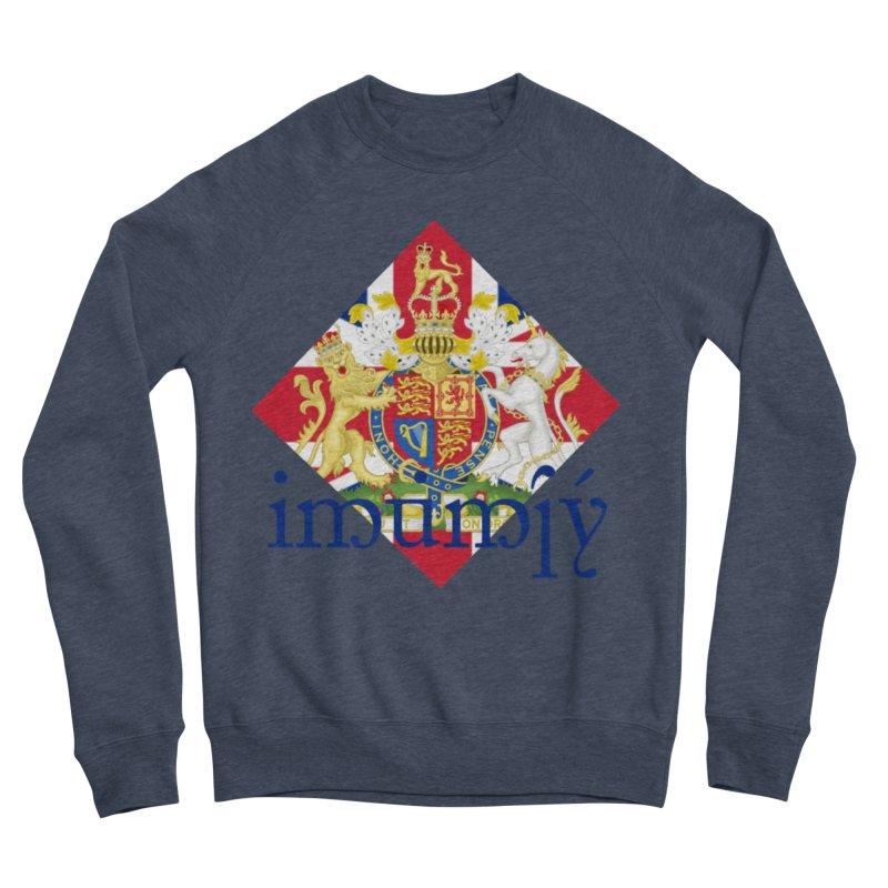 England Elvish Heraldry Women's Sponge Fleece Sweatshirt by Q101 Shop