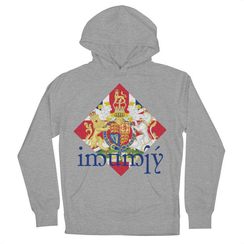 England Elvish Heraldry Women's French Terry Pullover Hoody by Q101 Shop