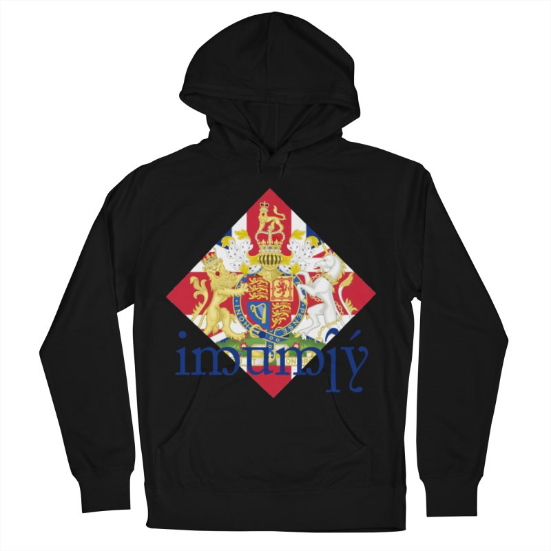 England Elvish Heraldry Men's French Terry Pullover Hoody by Q101 Shop