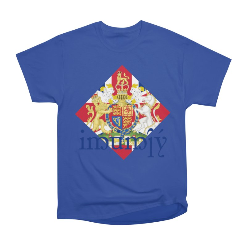 England Elvish Heraldry Men's Heavyweight T-Shirt by Q101 Shop