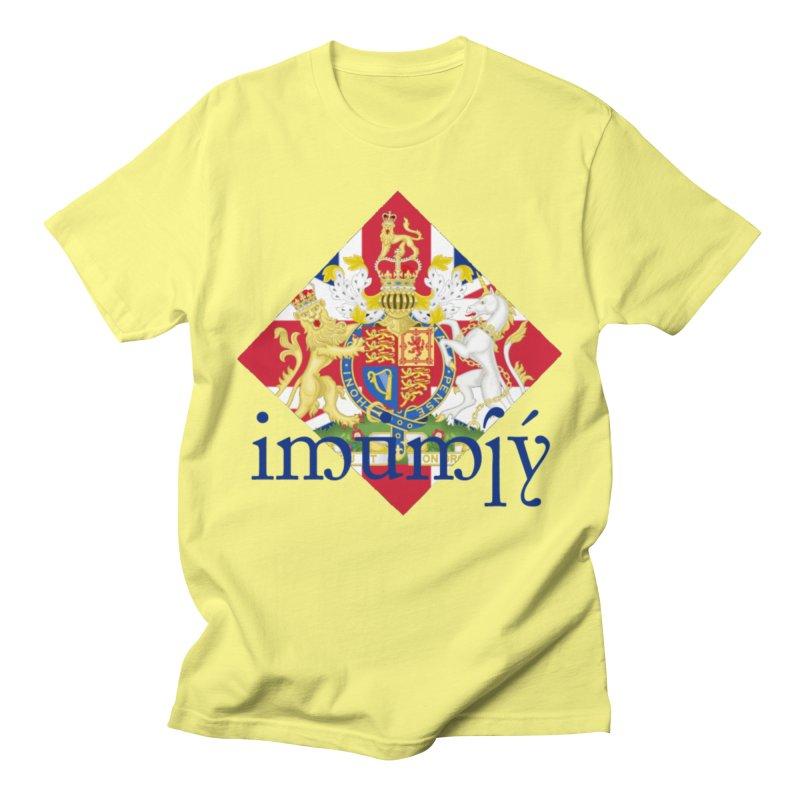 England Elvish Heraldry Men's Regular T-Shirt by Q101 Shop