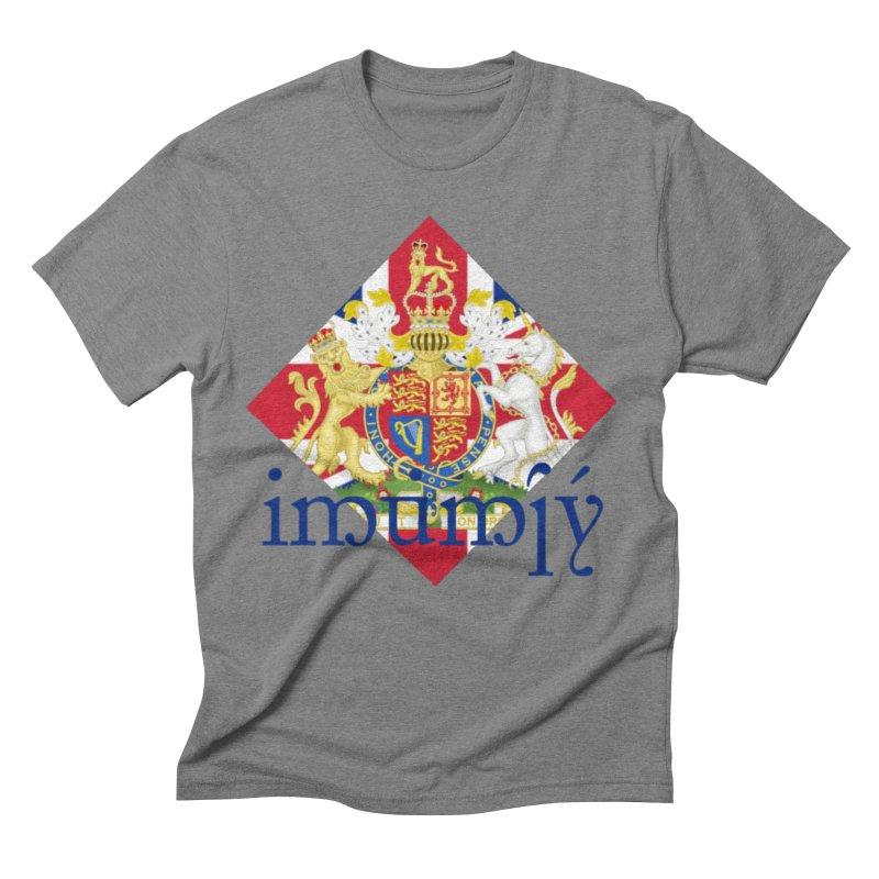 England Elvish Heraldry Men's Triblend T-Shirt by Q101 Shop