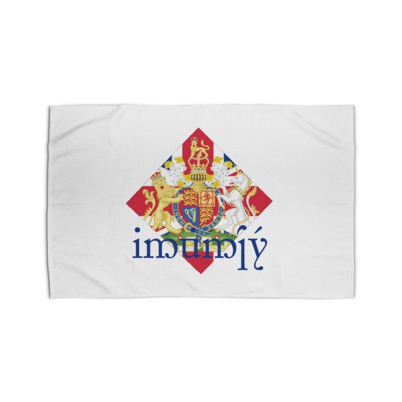 England Elvish Heraldry Home Rug by Q101 Shop