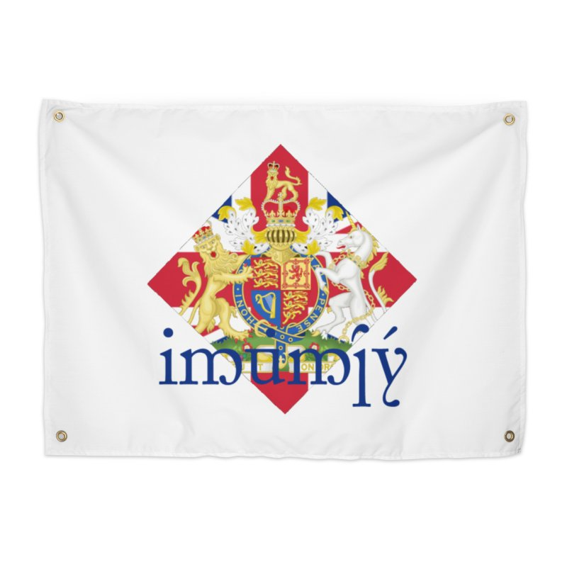 England Elvish Heraldry Home Tapestry by Q101 Shop