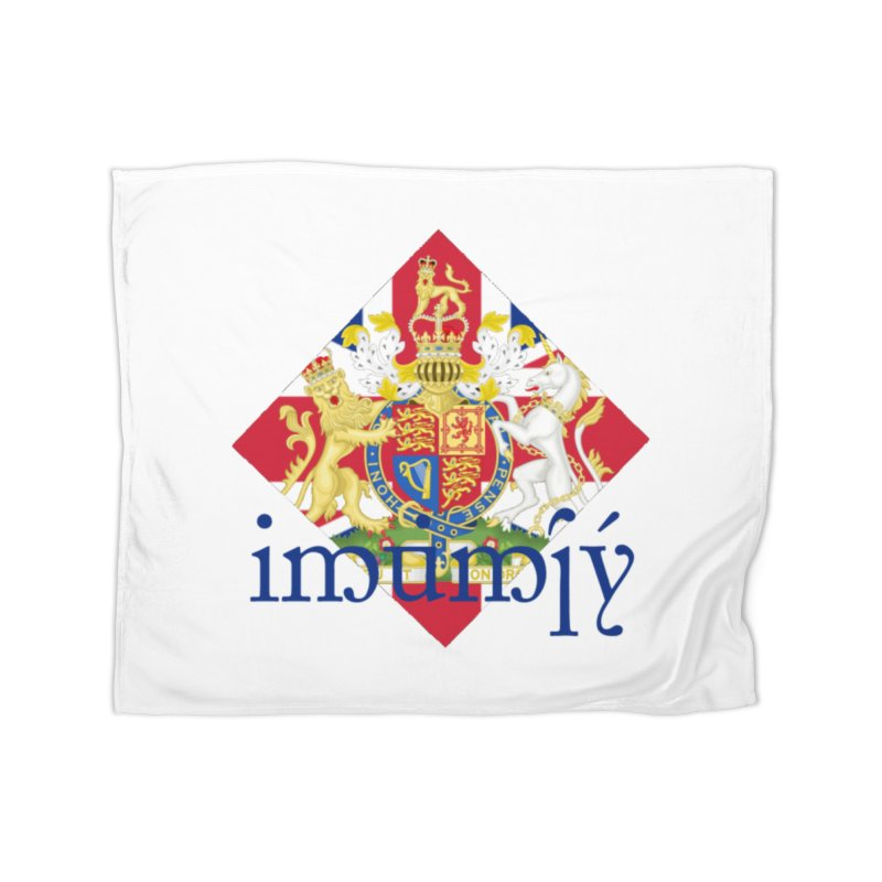 England Elvish Heraldry Home Blanket by Q101 Shop