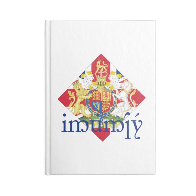 England Elvish Heraldry Accessories Notebook by Q101 Shop