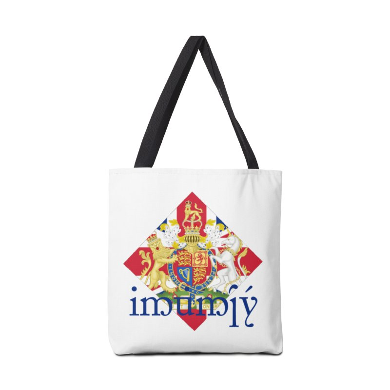 England Elvish Heraldry Accessories Bag by Q101 Shop