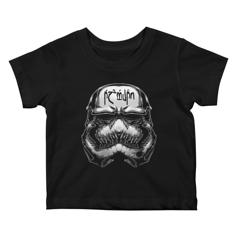 Warrior of the Sky Kids Baby T-Shirt by Q101 Shop