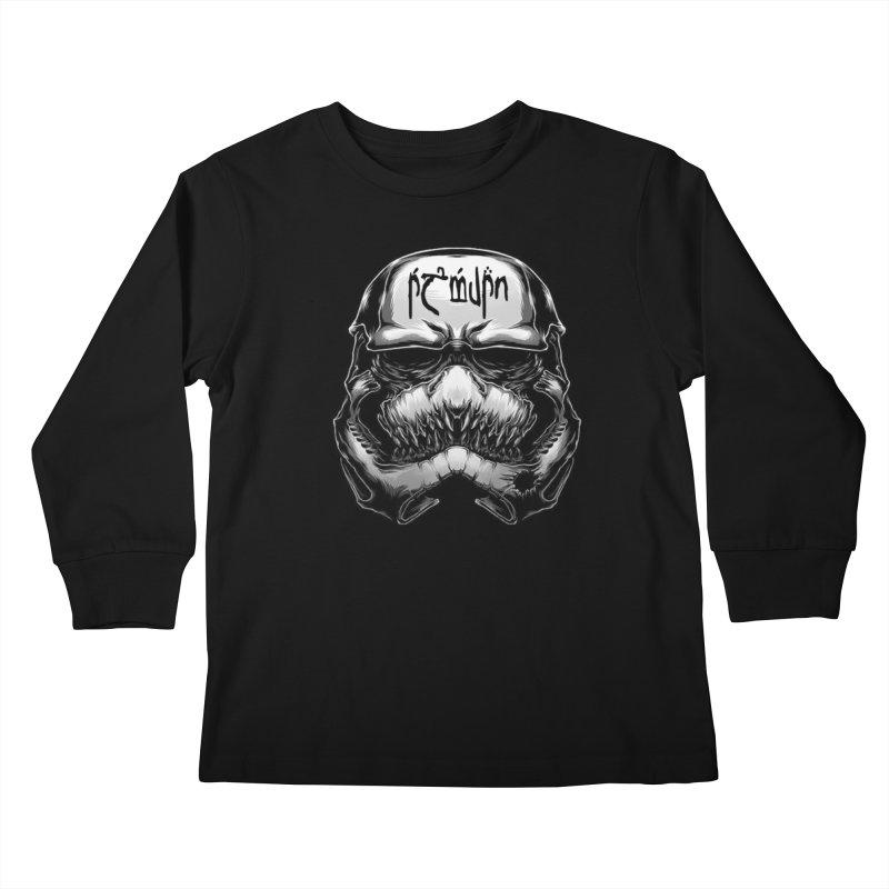 Warrior of the Sky Kids Longsleeve T-Shirt by Q101 Shop
