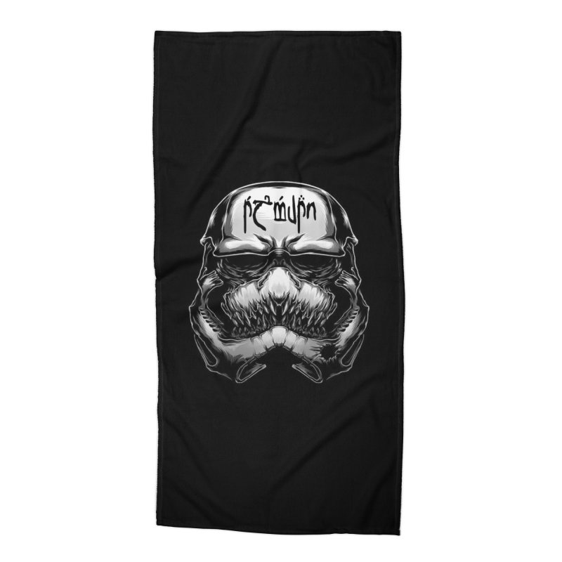Warrior of the Sky Accessories Beach Towel by Q101 Shop